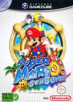 Jaquette de Super Mario Sunshine GameCube