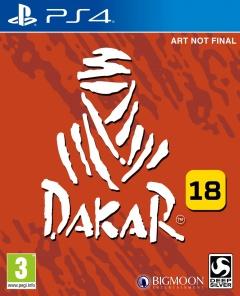 Jaquette de Dakar 18 PS4
