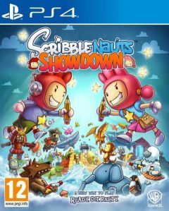 Jaquette de Scribblenauts Showdown PS4