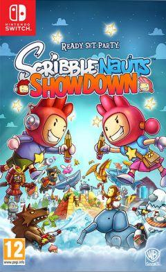 Jaquette de Scribblenauts Showdown Nintendo Switch