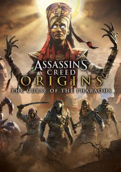 Jaquette de Assassin's Creed Origins : The Curse of the Pharaohs PS4
