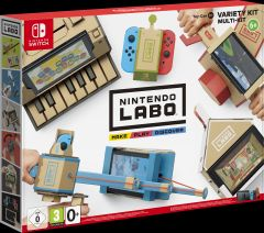 Jaquette de Nintendo Labo - ToyCon 01 : Multi-Kit Nintendo Switch