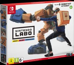 Jaquette de Nintendo Labo - ToyCon 02 : Kit Robot Nintendo Switch