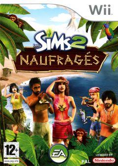 Jaquette de Les Sims 2 Naufragés Wii