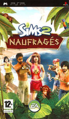 Jaquette de Les Sims 2 Naufragés PSP