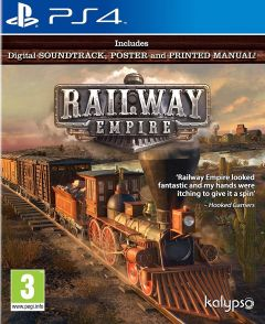 Jaquette de Railway Empire PS4