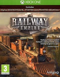 Jaquette de Railway Empire Xbox One