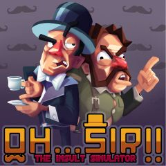 Jaquette de Oh... Sir ! The Insult Simulator Mac
