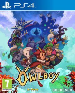 Jaquette de Owlboy PS4