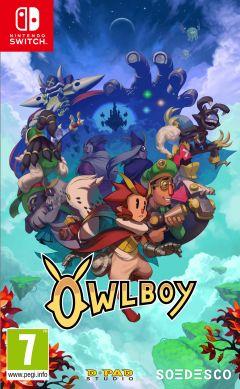 Jaquette de Owlboy Nintendo Switch