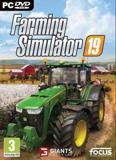 Jaquette de Farming Simulator 19 PC