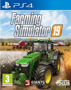 Jaquette de Farming Simulator 19 PS4