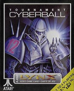 Jaquette de Tournament Cyberball 2072 Lynx
