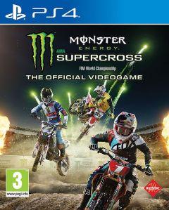 Jaquette de Monster Energy Supercross PS4