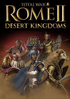Jaquette de Total War : Rome II Desert Kingdoms PC