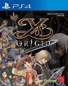 Jaquette de Ys Origin PS4