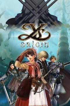 Jaquette de Ys Origin PS Vita