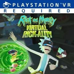 Jaquette de Rick and Morty : Virtual Rick-ality PlayStation VR