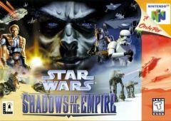Jaquette de Shadows of the Empire Nintendo 64