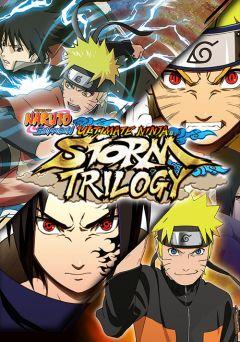 Jaquette de Naruto Shippuden Ultimate Ninja Storm Trilogy Nintendo Switch