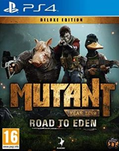 Jaquette de Mutant Year Zero : Road to Eden PS4