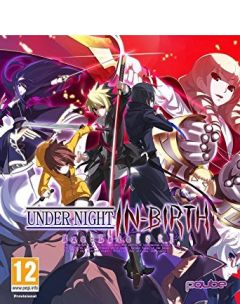 Jaquette de Under Night In-Birth EXE : Late[st] PS Vita