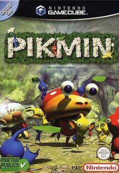 Jaquette de Pikmin GameCube