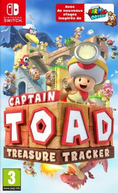 Jaquette de Captain Toad : Treasure Tracker Nintendo Switch