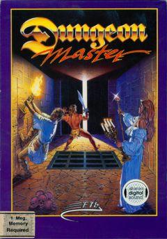 Jaquette de Dungeon Master Amiga