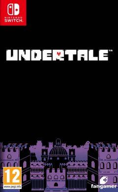 Jaquette de Undertale Nintendo Switch