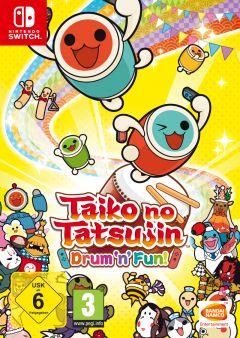 Jaquette de Taiko no Tatsujin : Drum 'n' Fun ! Nintendo Switch