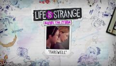 Jaquette de Life is Strange Before the Storm : Episode Bonus - Farewell PS4