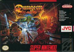 Jaquette de Dungeon Master Super NES