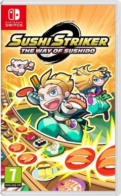Jaquette de Sushi Striker : The Way of Sushido Nintendo Switch