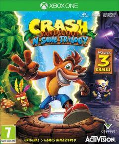 Jaquette de Crash Bandicoot N.Sane Trilogy Xbox One