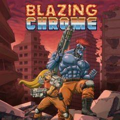 Jaquette de Blazing Chrome PC