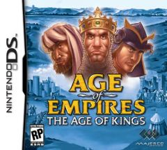 Jaquette de Age of Empires II : The Age of Kings DS