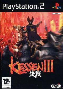 Jaquette de Kessen III PlayStation 2
