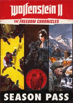 Jaquette de Wolfenstein II The New Colossus - The Freedom Chronicles Xbox One