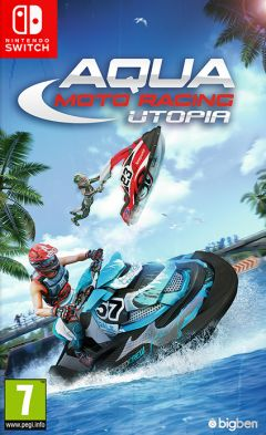 Jaquette de Aqua Moto Racing Utopia Nintendo Switch