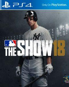 Jaquette de MLB The Show 18 PS4
