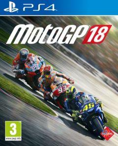 Jaquette de MotoGP 18 PS4