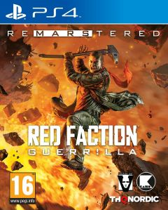Jaquette de Red Faction Guerrilla Re-Mars-tered PS4
