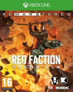 Jaquette de Red Faction Guerrilla Re-Mars-tered Xbox One