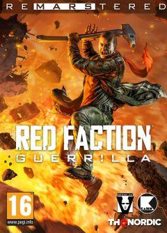 Jaquette de Red Faction Guerrilla Re-Mars-tered PC