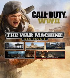 Jaquette de Call of Duty WWII : The War Machine PS4