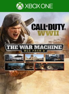 Jaquette de Call of Duty WWII : The War Machine Xbox One