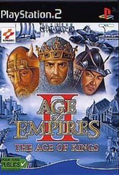 Jaquette de Age of Empires II : The Age of Kings PlayStation 2