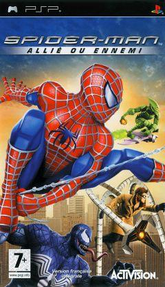 Jaquette de Spider-Man : Allié ou Ennemi PSP