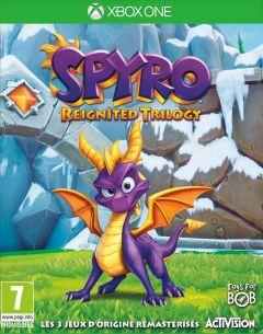Jaquette de Spyro Reignited Trilogy Xbox One
